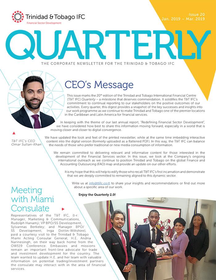 TTIFC Quarterly - Issue 20