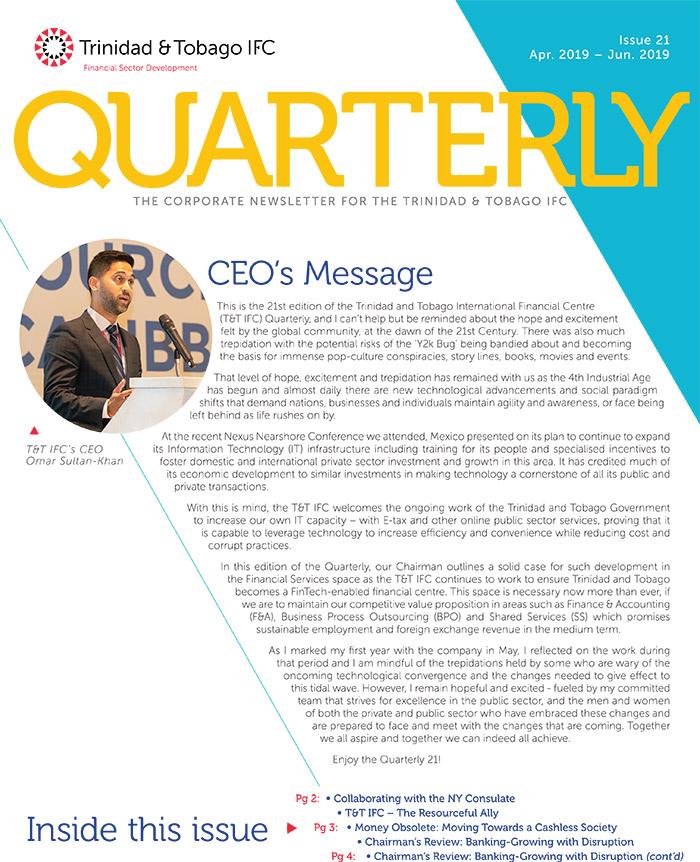 TTIFC Quarterly - Issue 21