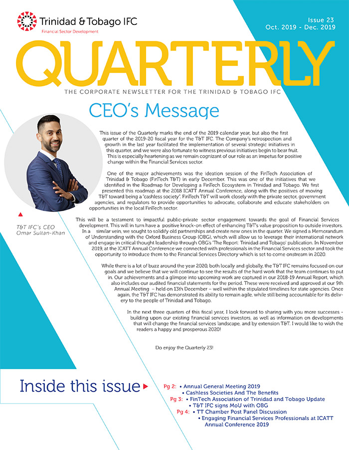 TTIFC Quarterly - Issue 23