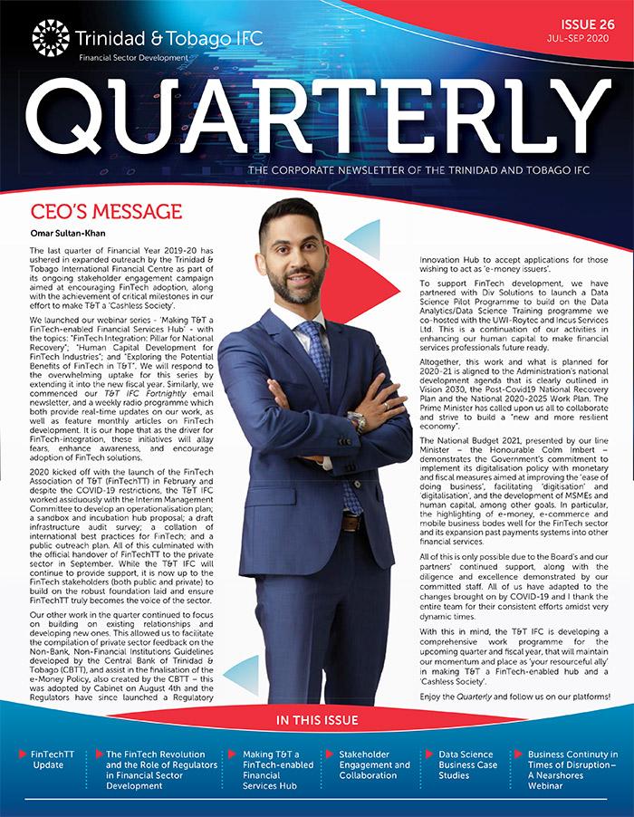 TTIFC Quarterly - Issue 26