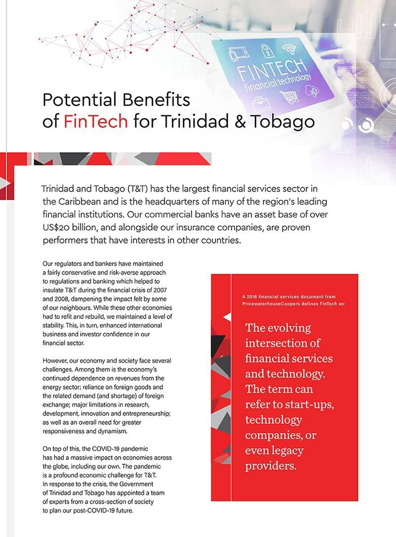 Potential Benefits of FinTech for Trinidad & Tobago