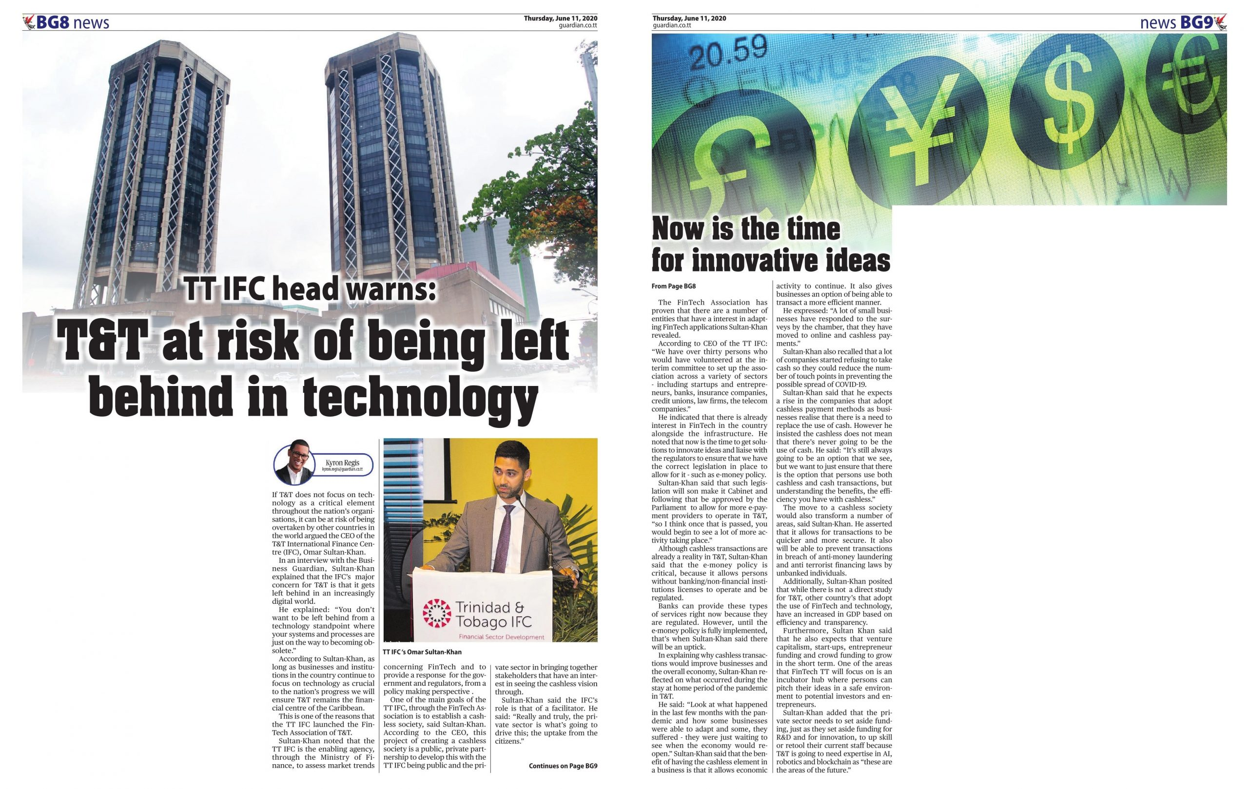 T&T at risk of being left behind in technology TTIFC head warns