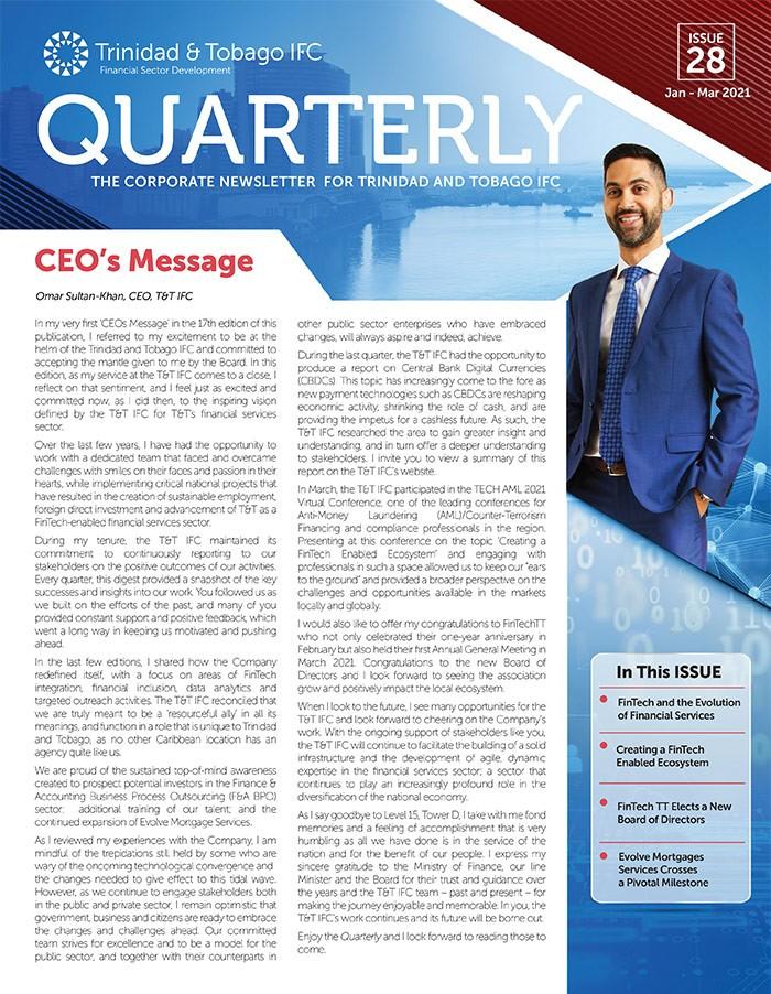 TTIFC Quarterly – Issue 28
